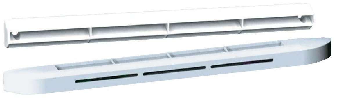Entrée d'air hygroréglable 6-45 m3/h blanc