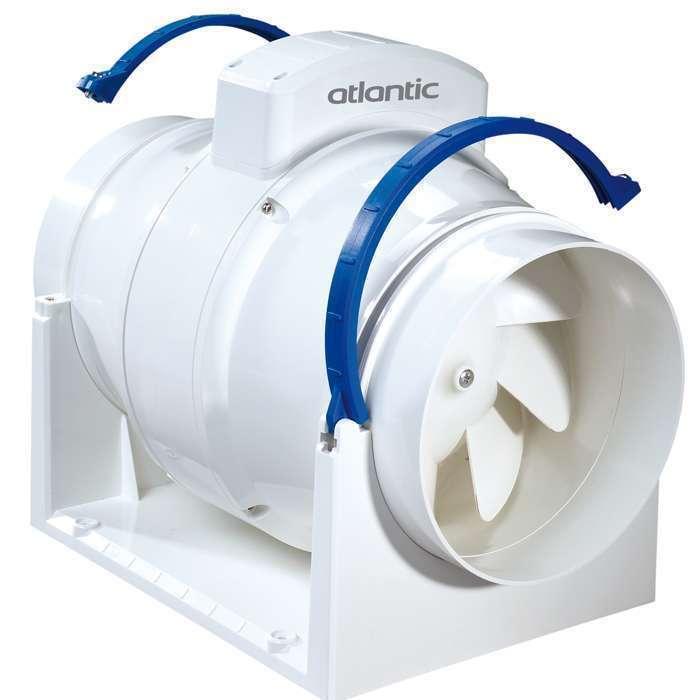 Extracteur d'air permanent en conduits