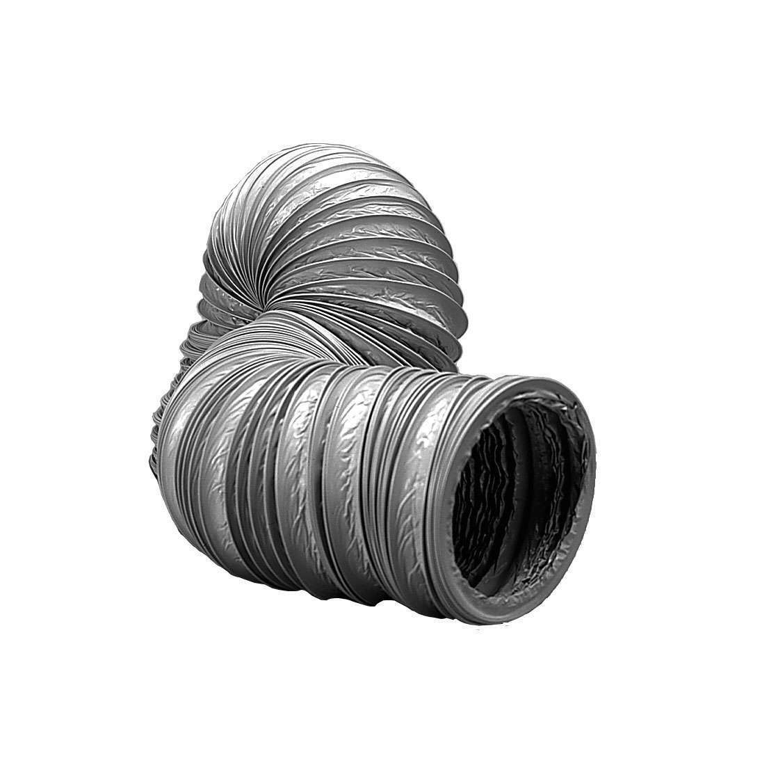 6m Gaine PVC Non Isolé circulaire standard  ⌀80