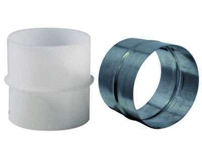 Manchon raccord PVC diam 80 mm