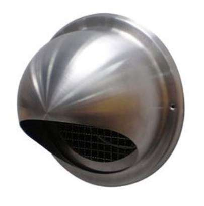 Prise/rejet air VMC inox D125 mm