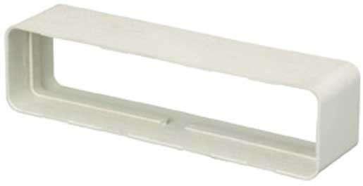 Raccord droit rectangulaire 55x220 plastique