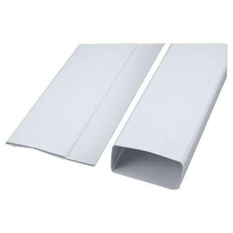 Tube rectangulaire pliant Lg 1.5m 55x220