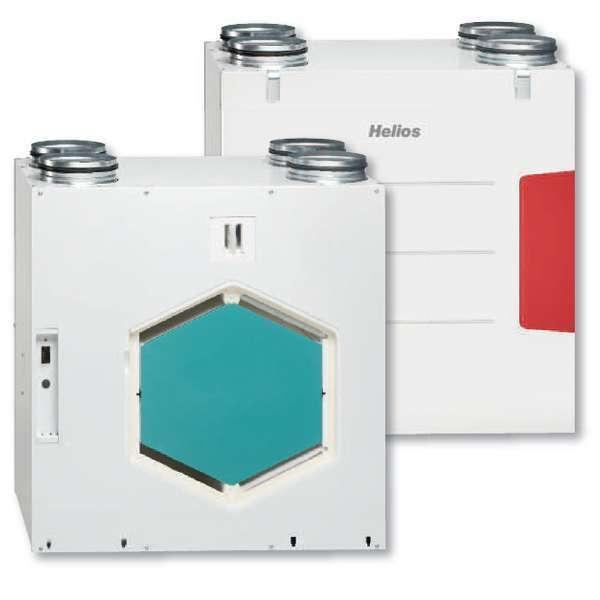 vmc double flux haut rendement kwl ec 270 w et l r helios ventilateurs. Black Bedroom Furniture Sets. Home Design Ideas