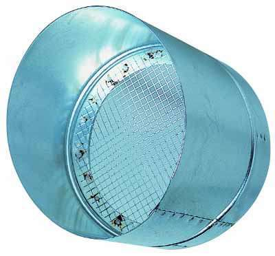Accessoires circulaires galva standard VISIERE PARE-PLUIE D450 Aldes 11094881