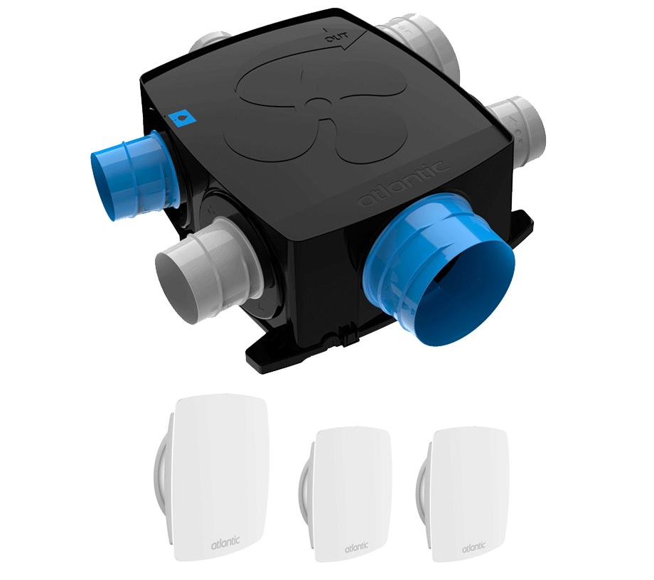 Autocosy IH Flex VMC simple flux autoréglable Atlantic 412290