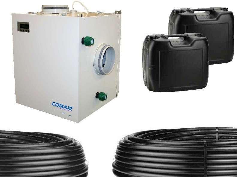 Kit puits canadien hydraulique aquacom ventilair groupe belgium bvba - Kit puit canadien ...