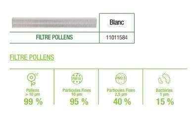 filtre pour entrée air filtrante AirFILTER Aldes