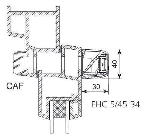 EHC vue en coupe