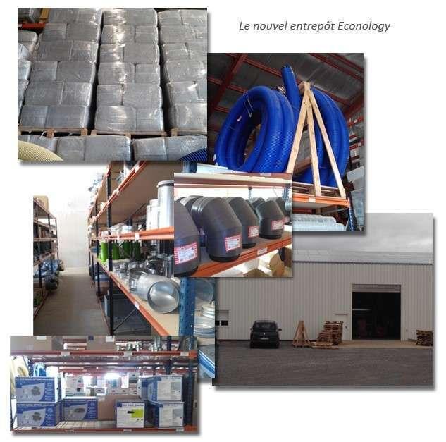 nouvel entrepôt Econology