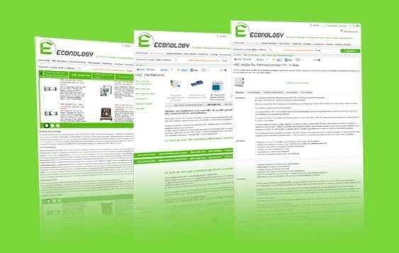 Présentation du nouveau site Econology.fr et bons d'achat