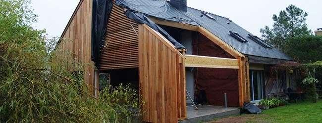 Extension de maison et économies d'énergie