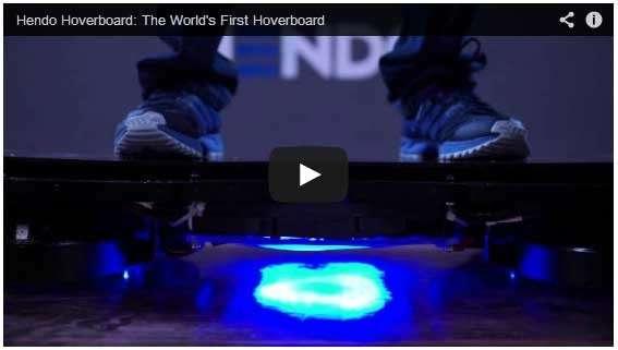 L'hoverboard de Retour vers le futur existe enfin !